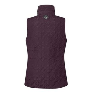 Quilted Vest Mulberry
