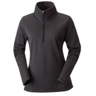 Check Fleece Half Zip Mercury